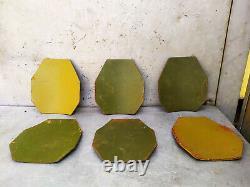 1x Level IV Ballistic Armor Plate 7.62 Size 10x12 Russia