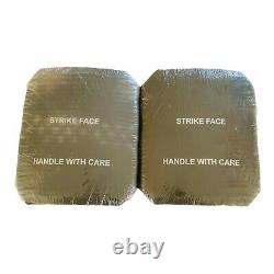 (2) Armor Works Strike Face Plates Small Side PLATES 7.62MM