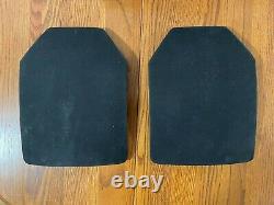 2 Hoplite SAPI Plates, NIJ Certified III + 1 (do the math.) Triple Curve 26149