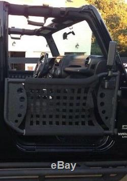 2007-2017 Jeep Wrangler 2 Door Body Armor Gen III Trail Front Doors Pair