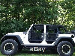 2007-2017 Jeep Wrangler Unlimited Body Armor Gen III Trail F & R Doors with Mirror