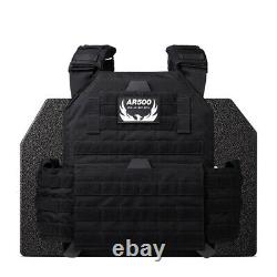 AR500 Body Armor Level 3 Testudo Gen 2 Carrier and Plates