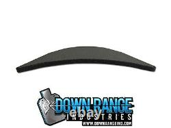 AR500 Level 3 III Body Armor Plates Curved 10x12 with 6x6 Side Plates Swim/Sapi