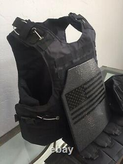 AR500 Plate Tactical Carrier lll Safariland Made With Kevlar BULLETPROOF Vest