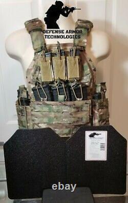 AR500 Plates Commander's Tactical Carrier MULTICAM