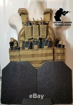 AR500 Plates Commander's Tactical Carrier TAN