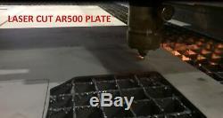 AR500 Steel Body Armor Level III Two 10 x 12 Plates Frag Coating