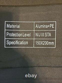 AR500 Testudo Gen 2/LVL III plates COMPLETE KIT