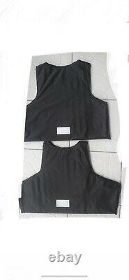 AR500 bulletproof vest LVL lll Plates body armor FREE Soft Inserts 3A M-4XL