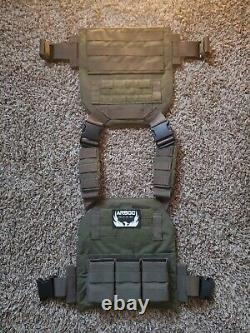 AR500 plate carrier + Esstac KYWI & Level III Multicurve plates