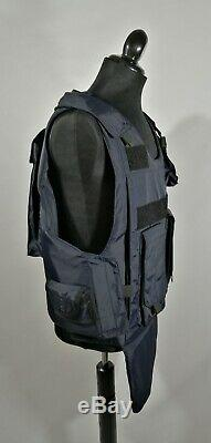 ARMOR BALLISTIC BULLET PROF VEST Body Armor III A CARRIER & KEV LAR PLATE MD