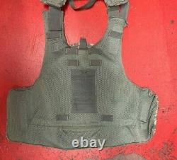 ARMY ACU DIGITAL BODY ARMOR PLATE CARRIER MADE WithKEVLAR INSERTS Large