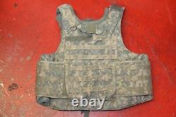 ARMY ACU DIGITAL BODY ARMOR PLATE CARRIER MADE WithKEVLAR INSERTS SMALL