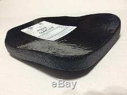 ATS Armor Level III polyethylene armor plates, lightweight, multicurve, 10x12