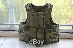 AU Combat Tactical vest carrier +2PCS III ceramic plates(stand alone)