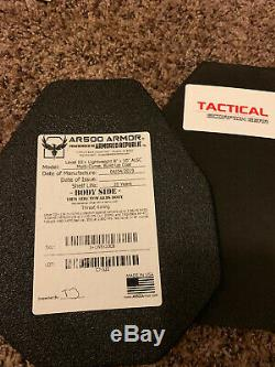 Ar500 Micro carrier, Lightweight Multi curve III+ 8x10 plates package