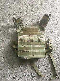 Ar500 level 3 body armor with tactical vest