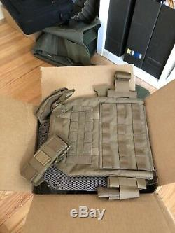 Ar500 plate carrier with plates