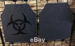 Armor Plate Carrier Kit With Level 3 AR500 Steel Plates 10x12 Mint