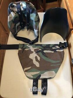 Armor shoulders AR500 level lll rifle grade Free Ship usa made Woodlands Camo