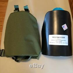 Armor shoulders AR500 level lll rifle grade Free Shipping usa made OD Green