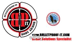 Armored Piercing Protection Plates- NIJ Certified-Stops 30-06 APp