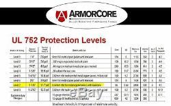 BALLISTIC SHIELD Bullet Proof Body Armor -Level III+ L3+ 12x14 STOPS. 556.308