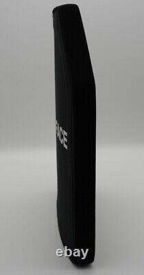 BODY ARMOR LEVEL 3 PLUS SPECIAL THREAT CERAMIC BALLISTIC PLATE LIGHTWEIGHT 10x12