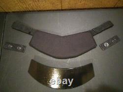 Ballistic collar level 3 body armor