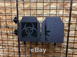 Body Armor AR500 Bio Hazard Pair of 10x12 Plates In stock Immediate Shipping