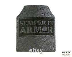 Body Armor AR500 Class 3 Single Plate / Graphics and Full Spalling Coat Upgrades