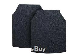 Body Armor AR500 Pair of Curved 10x12 Plates In Stock Immediate Shipping