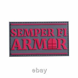 Body Armor AR500 Plate sets of two 8X10s or 10X12s in Hot Pink for the Ladies