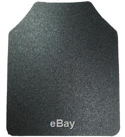 Body Armor AR500 Steel Plates Base Frag Coating Level 3 III 10x12- PAIR