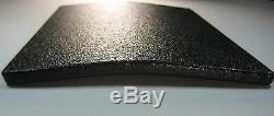 Body Armor AR500 Steel Plates Base Frag Coating Level III 10x12-6x8 (4)