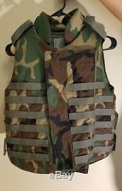 Body Armor Interceptor Multi-Threat Body Armor System (IBA) Bulletproof Vest