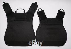 Body Armor Plate Carrier MOLLE Tactical Vest III-A waterproof Kevlar included
