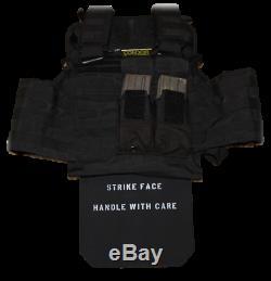 Body Armor Plate-Single Curve Ceramic-Stand Alone Performance-NIJ Level III+