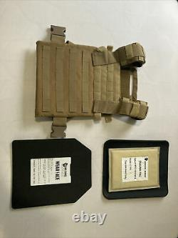 Body Armor Vest With Plates