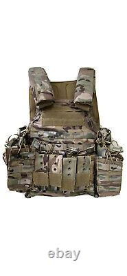 Body Armor and Tactical Vest Level 3 Bulletproof Plates