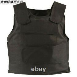 Body Bulletproof Vest Front Back Plates Armor Tactical Jacket Guard Security Kit