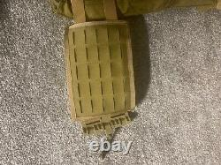 Body armor level 3 plates and plate carrier