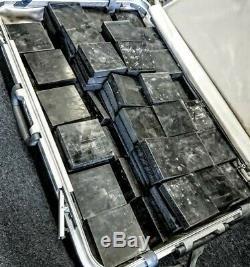 Boron Carbide B4C UHMWPE Hybrid Armor Tile 4x4x 0.8 ($33.30/Tile) 20 Tiles