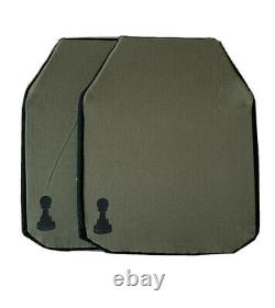 Bulletproof Plates Pawn Armor 10 x 12 inches Soft light uhmwpe 3A III A (pair)