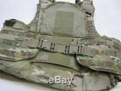 Bulletproof Vest Multicam Plate Carrier X-large Ocp XL Body Armor Iii-a