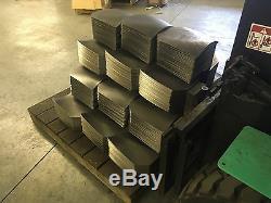 CATI AR500 Body Armor Base Coat Steel Plates Level III 10x12 PAIR SWIM/SAPI EVO