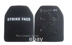 Ceramic Body Armor Plate Level IV 12''X10''X0.8 Medium size