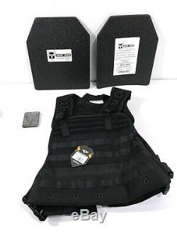 Condor Compact Plate Carrier + Ar500 Armor LVL III Asc 10x12 Ballistic Plates