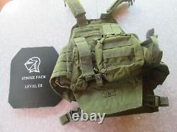 Condor Tech Vest with level 3 strike force plates and knife protection Free Ship