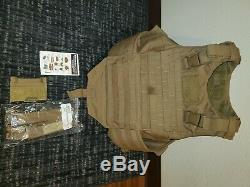 Coyote brown IMTV (flack) perfect condition